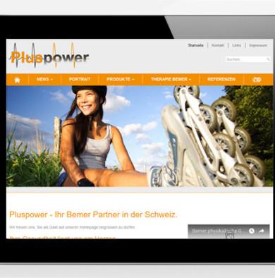 Web Design PlusPower.ch