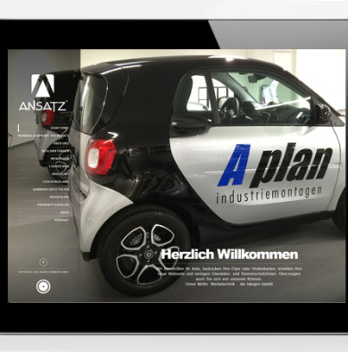 Webdesign Werbetechnik
